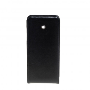 Montblanc Black Leather iPhone 5s Cover