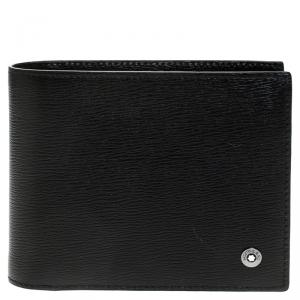 Montblanc Black Leather Westside Bifold Wallet