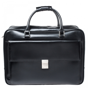 Montblanc Back Leather Meisterstuck Suitcase