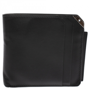 Montblanc Black Leahter Urban Spirit Bifold Wallet