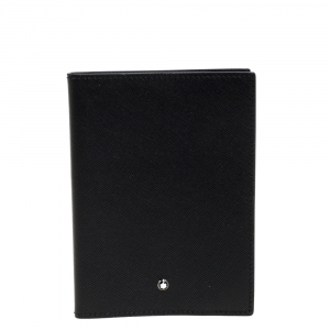 Montblanc Black Leather Meisterstuck Passport Holder
