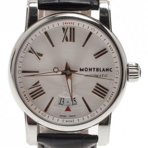 Montblanc Cream Stainless Steel Men's Wristwatch 41MM