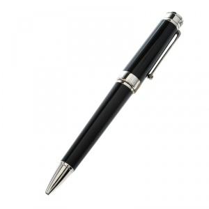 قلم جاف مونت جرابا بارولا رزين أسود فضي اللون