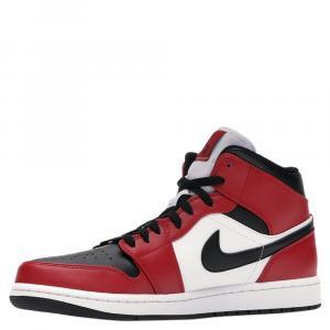 Nike Jordan 1 Mid Chicago Toe Shoe Size 41