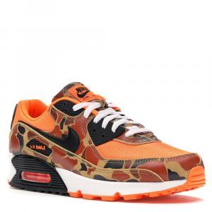 Nike Airmax 90 Duck Camo Orange Sneakers Size 46 - used