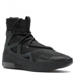 Nike Fear of God 1 Triple Black Sneakers Size 45