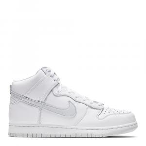 Nike Dunk High Platinum Sneakers US Size 8 EU Size 41