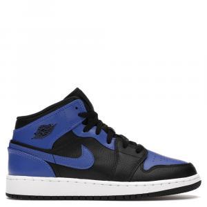 Nike Jordan 1 Mid Hyper Royal Sneaker Size EU 38.5 US 6Y