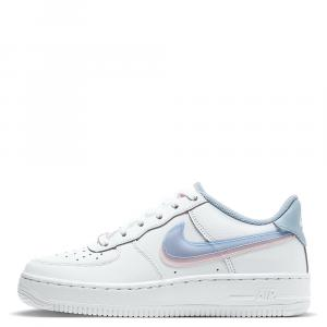 Nike Air Force 1 Low Double Swoosh Sneakers Size US 6.5Y EU 39