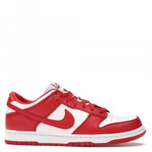 Nike Dunk Low University Red Sneakers Size US 9.5 EU 43