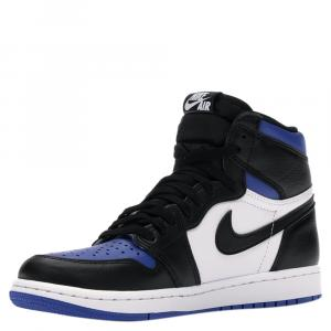 Nike Jordan 1 High Royal Toe Sneakers Size US Size 9(EU Size 42.5)