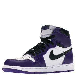 Nike Jordan 1 High Purple Court 2.0 Sneakers Size (US 9) EU 42.5