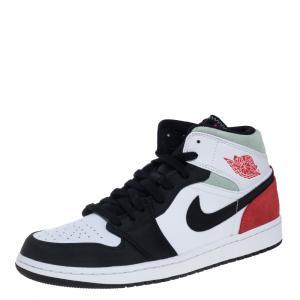 Nike Jordan 1 Mid Union Red Sneakers Size EU 45 (US 11)