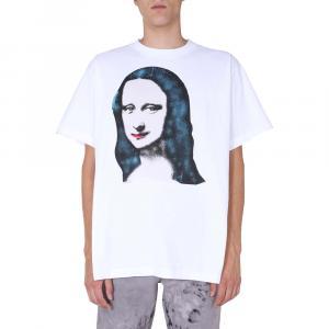 Off-White White Monalisa S/S T-Shirt Size XS -