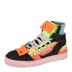 Off White Multicolor Off Court 3.0 Sneakers Size 41