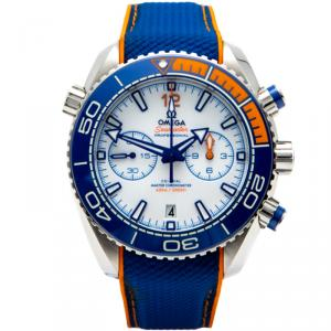 Omega Michael Phelps  Seamaster Planet Ocean Limited Edition 280 Steel Automatic Men'S Watch 45.5MM