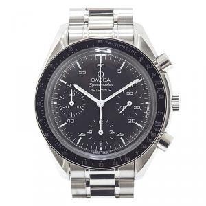 Omega Black Stainless Steel Speedmaster 3510.50 Men's Wristwatch 38MM