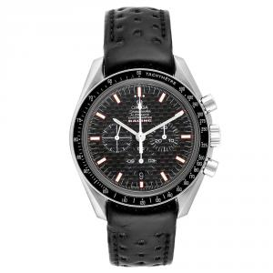 Omega Black Stainless Steel Speedmaster Professional Racing 3552.59.00 Men's Wristwatch 42 MM