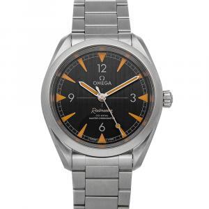 """ساعة يد رجالية أوميغا """"سيماستر رايلماستر 220.10.40.20.01.001"""" ستانلس ستيل سوداء 40 مم"""