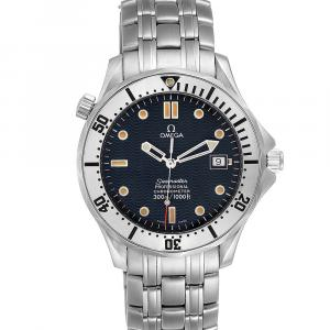Omega Blue Stainless Steel Seamaster James Bond 2532.80.00 Men's Wristwatch 41 MM