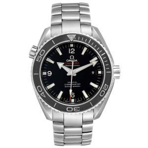 Omega Black Stainless Steel Seamaster Planet Ocean 600M 232.30.46.21.01.001 Men's Wristwatch 45.5 MM