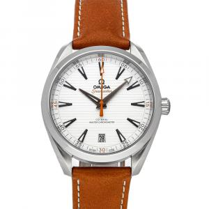 Omega Silver Stainless Steel Seamaster Aqua Terra 150m Golf Edition 220.12.41.21.02.003 Men's Wristwatch 41 MM