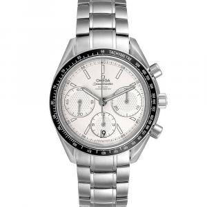 Omega Silver Stainless Steel Speedmaster Racing Chronograph 326.30.40.50.02.001 Men's Wristwatch 40 MM