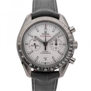 "Omega Platinum Ceramic Speedmaster Moonwatch Chronograph ""Grey Side of the Moon"" 311.93.44.51.99.001 Men's Wristwatch 44 MM"
