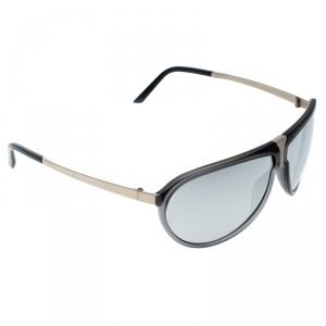 Porsche Design Grey/Silver P86BF Aviator Sunglasses