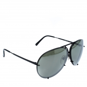Porsche Design Black P'8478 Aviator Sunglasses