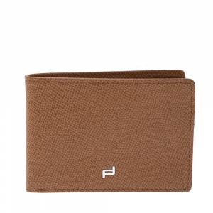 Porsche Design Brown Leather Bifold Wallet