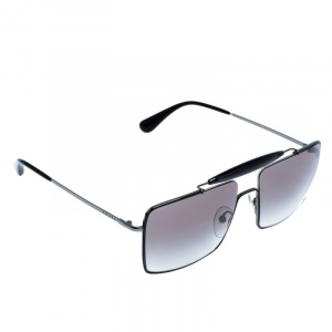 Prada Black Gradient SPR57S Square Sunglasses