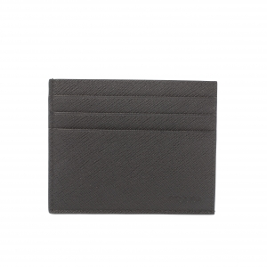 Prada Black Saffiano Leather Card Holder