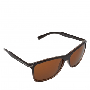 Prada Brown SPR 100 Square Sunglasses