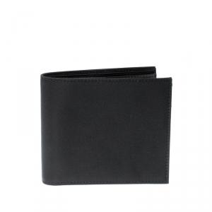 Prada Black Nylon Portafoglio Bifold Wallet
