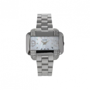 Rama Swiss Watch Unisex Wristwatch SS White