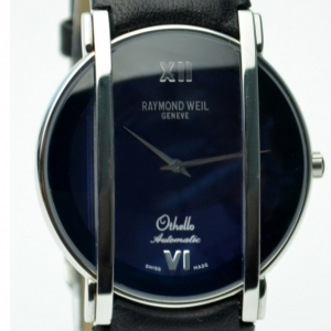 Raymond Weil Othello SS Navy Blue Unisex Wristwatch