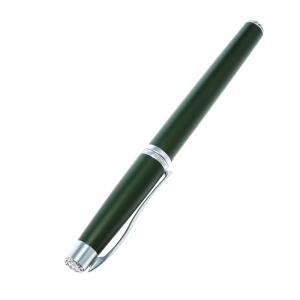 Roberge Orbite 2 Crystal Olive Green Aluminium Rollerball Pen
