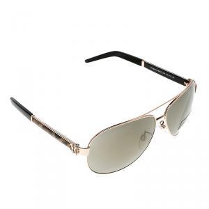 Roberto Cavalli Gold 892S Gorgonea Aviator Sunglasses