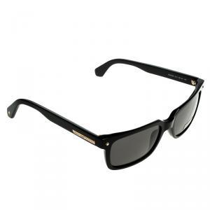 Roberto Cavalli Black 834S Square Sunglasses