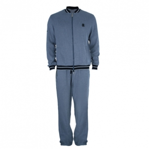 Roberto Cavalli Grey Logo Men's Track Suit L