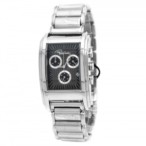Roberto Cavalli Grey Stainless Steel Eson R7253955025 Men's Wristwatch 31 mm