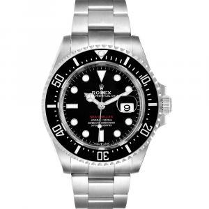 Rolex Black Stainless Steel Seadweller 50th Anniversary 126600 Men's Wristwatch 43 MM