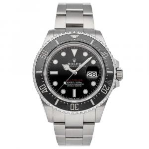 Rolex Black Stainless Steel Sea-Dweller 4000 126600 Men's Wristwatch 43 MM