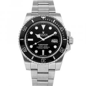 Rolex Black Stainless Steel Submariner Date 116610LN Men's Wristwatch 40 MM