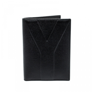 Saint Laurent Paris Black Leather Bifold Wallet