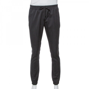 Saint Laurent Paris Black Wool Joggers M