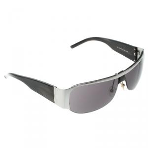 Saint Laurent Black YSL 2116/S Hafl Rim Sunglasses