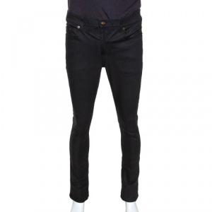Saint Laurent Paris Black Denim Skinny Jeans M