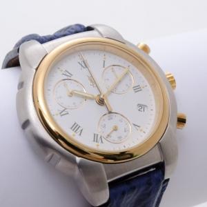 Yves Saint Laurent Chronograph 'Classic' Wristwatch Mens